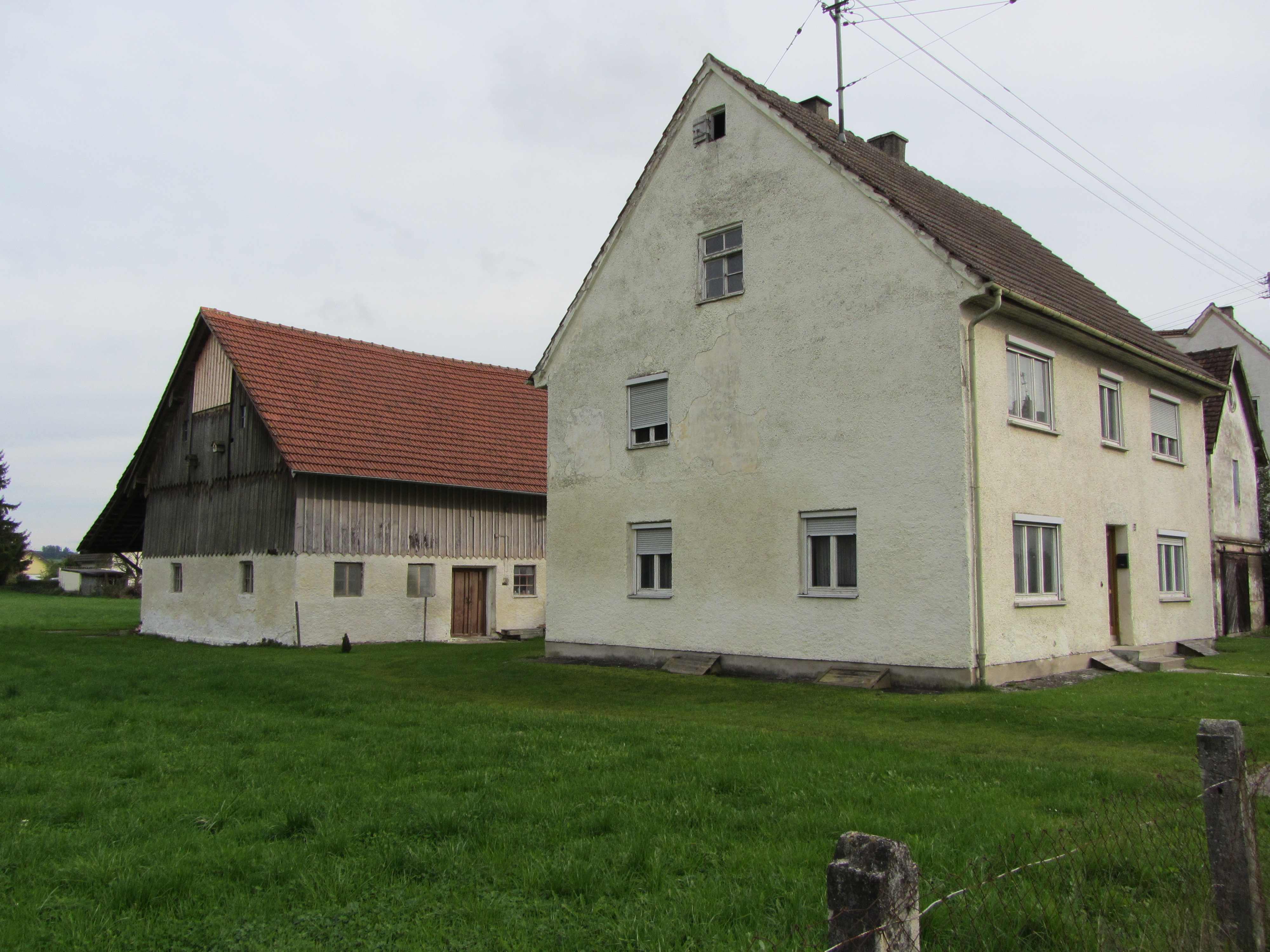 Birthplace of Rosenthal's mother, Dorlene Bacharach, in Fellheim