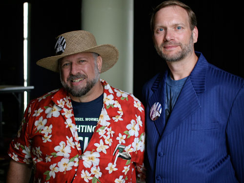 File:Michael Hart and Gregory Newby at HOPE Conference.jpg
