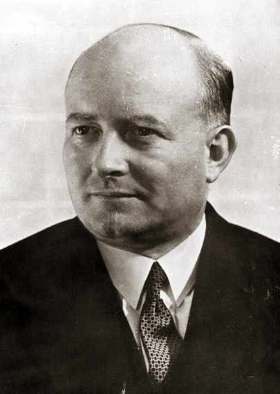 World War II Polish Prime Minister Stanislaw Mikolajczyk fled Poland in 1947 after facing arrest and persecution Mikolajczyk.jpg