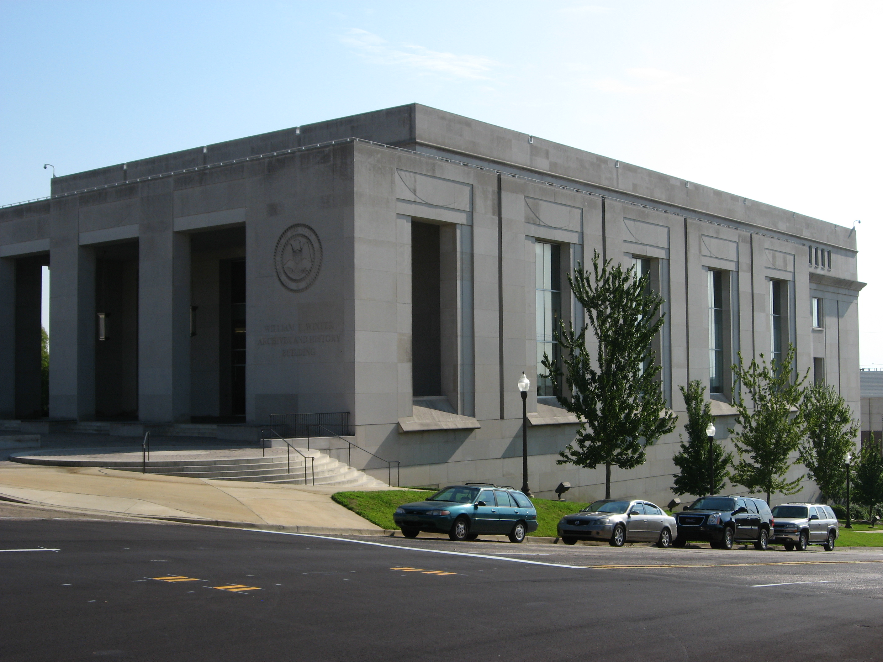 William F. Winter Archives and History Building