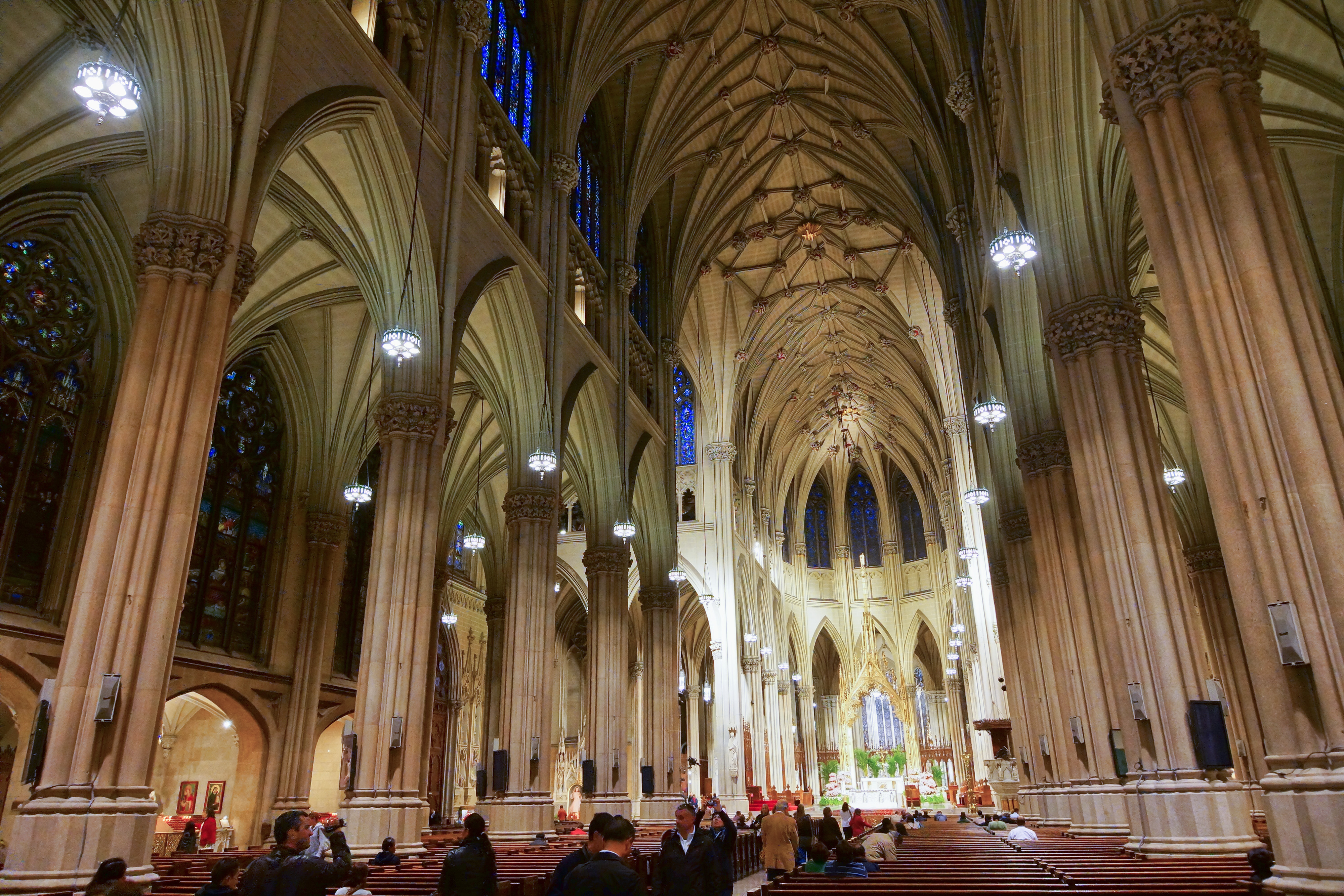 File Nyc St Patrick S Cathedral Interior Jpg