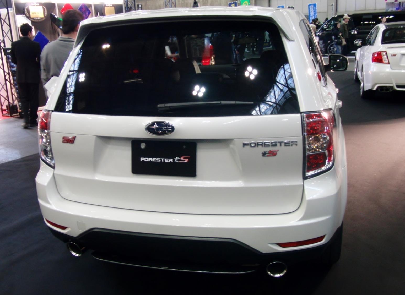 File Nagoya Auto Trend 2011 52 Subaru Forester Ts Jpg Wikimedia