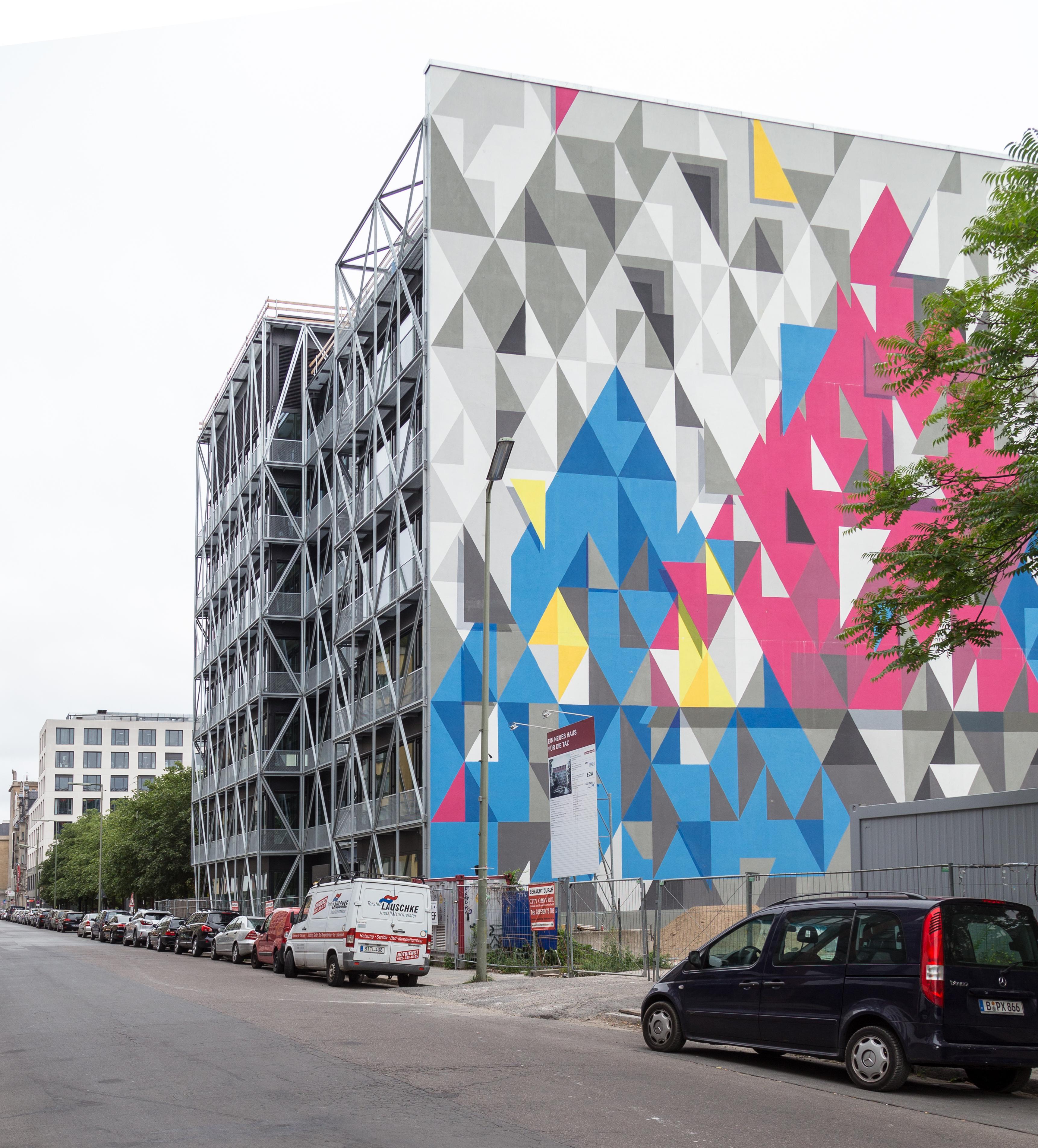 File Neue Haus Fur Die Taz Friedrichstr 20 22 Berlin Jpg