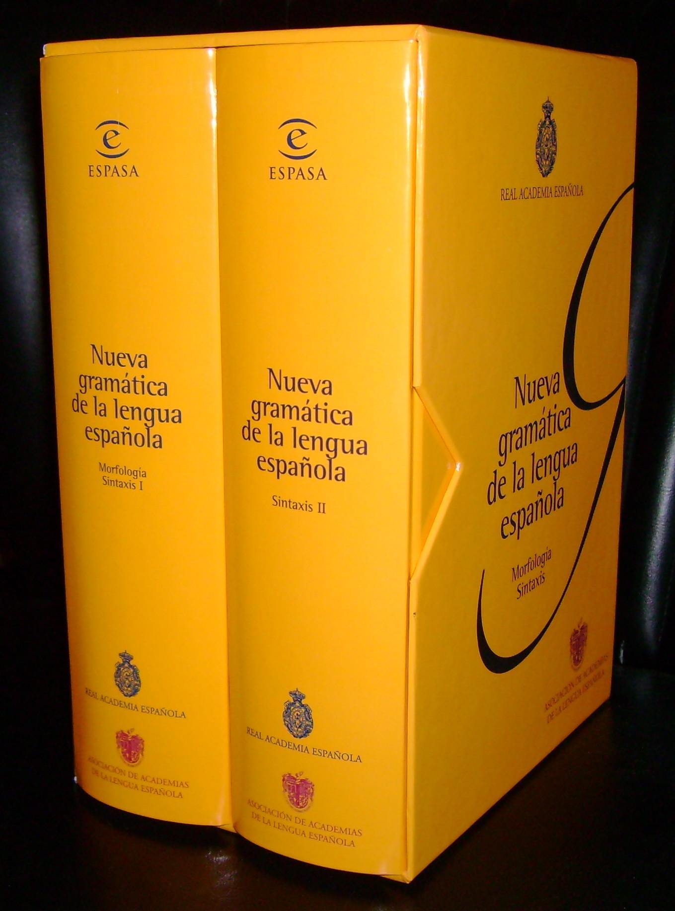 Nueva Gramática De La Lengua Española Wikipedia La Enciclopedia Libre