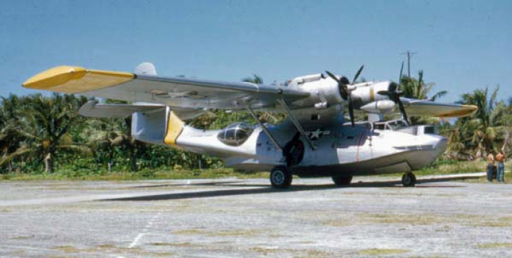 NAS Guam Photos http://commons.wikimedia.org/wiki/File:PBY-6A_USCG_at_NAS_Agana_Guam.JPG