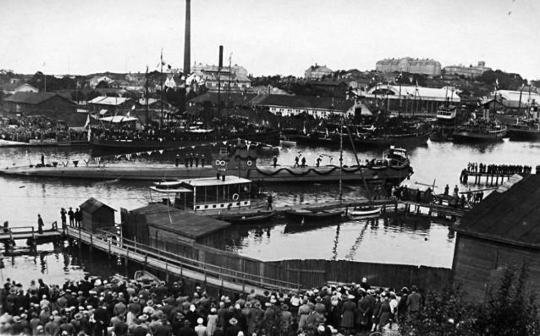 Finnish Submarine Vetehinen Wikipedia