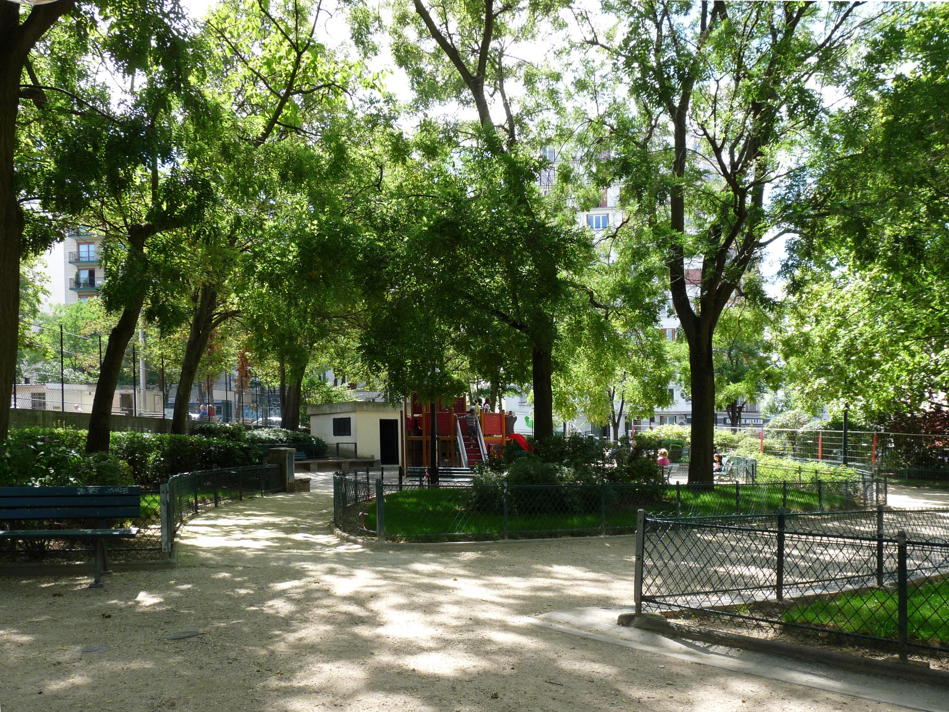 Parque de Belleville - Télégraphe