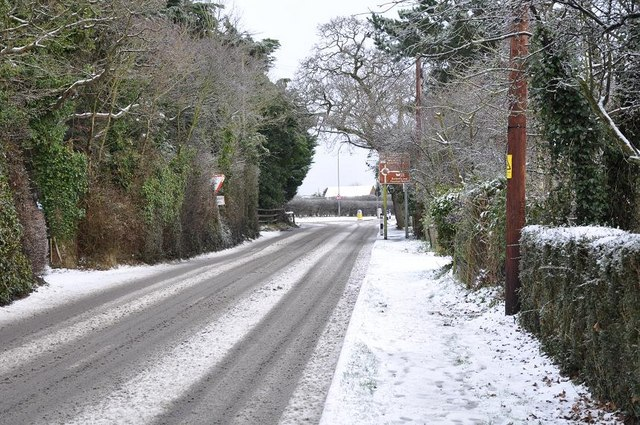 File:Park Road, Wootton Common - geograph.org.uk - 1332207.jpg