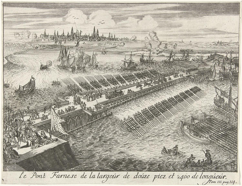 File:Parma's brug, Antwerpen 1585.
