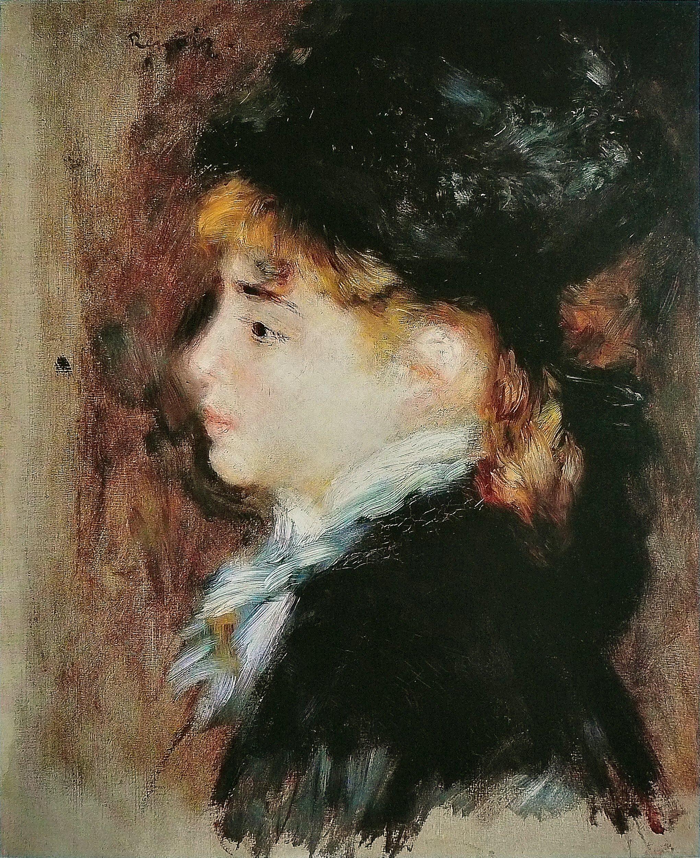 Auguste Renoir Self Portrait