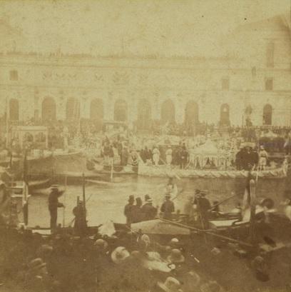 Pietro Bertoja - L'arrivo di Vittorio Emanuele II a Venezia il 7 novembre 1866