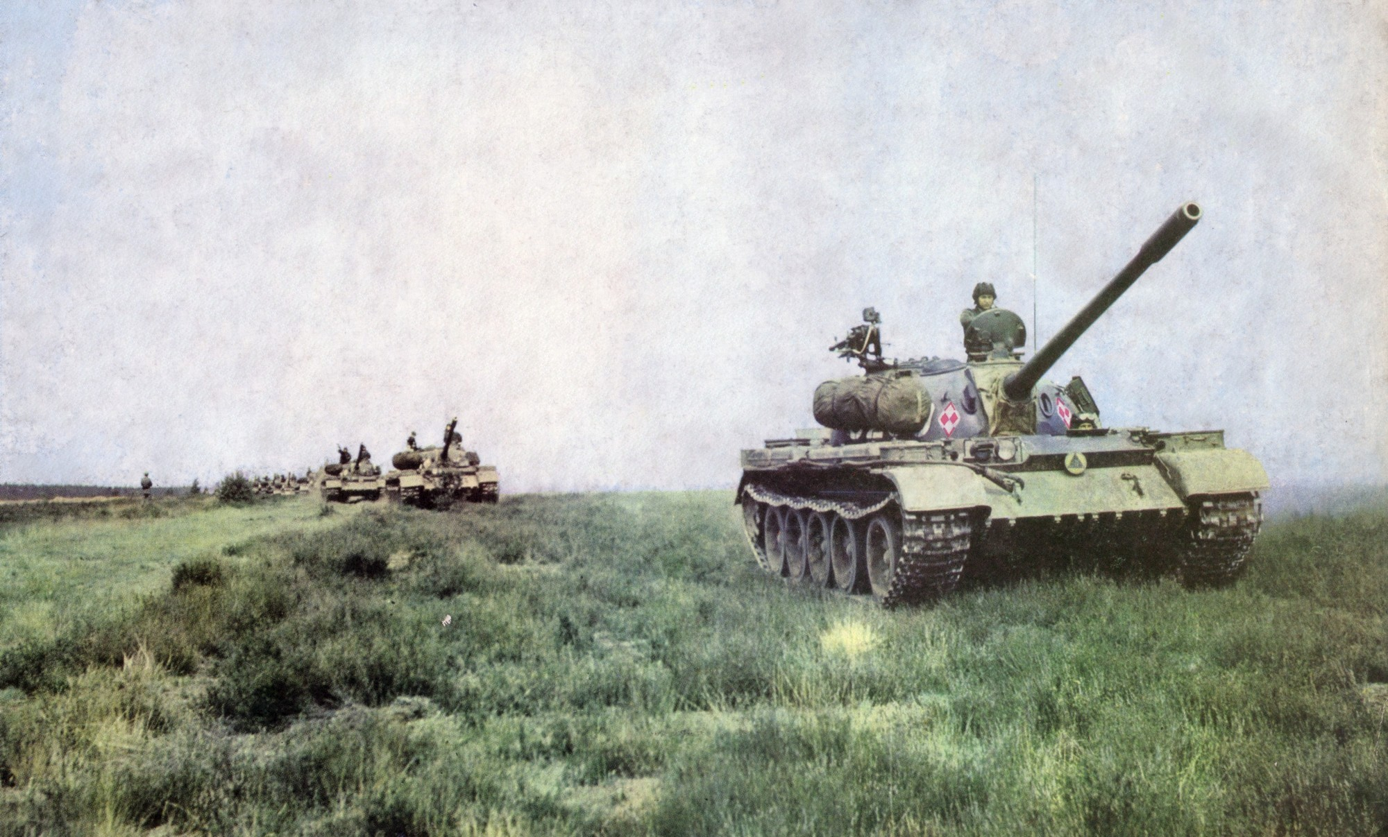 Tank T-55: characteristics, device, operation 93
