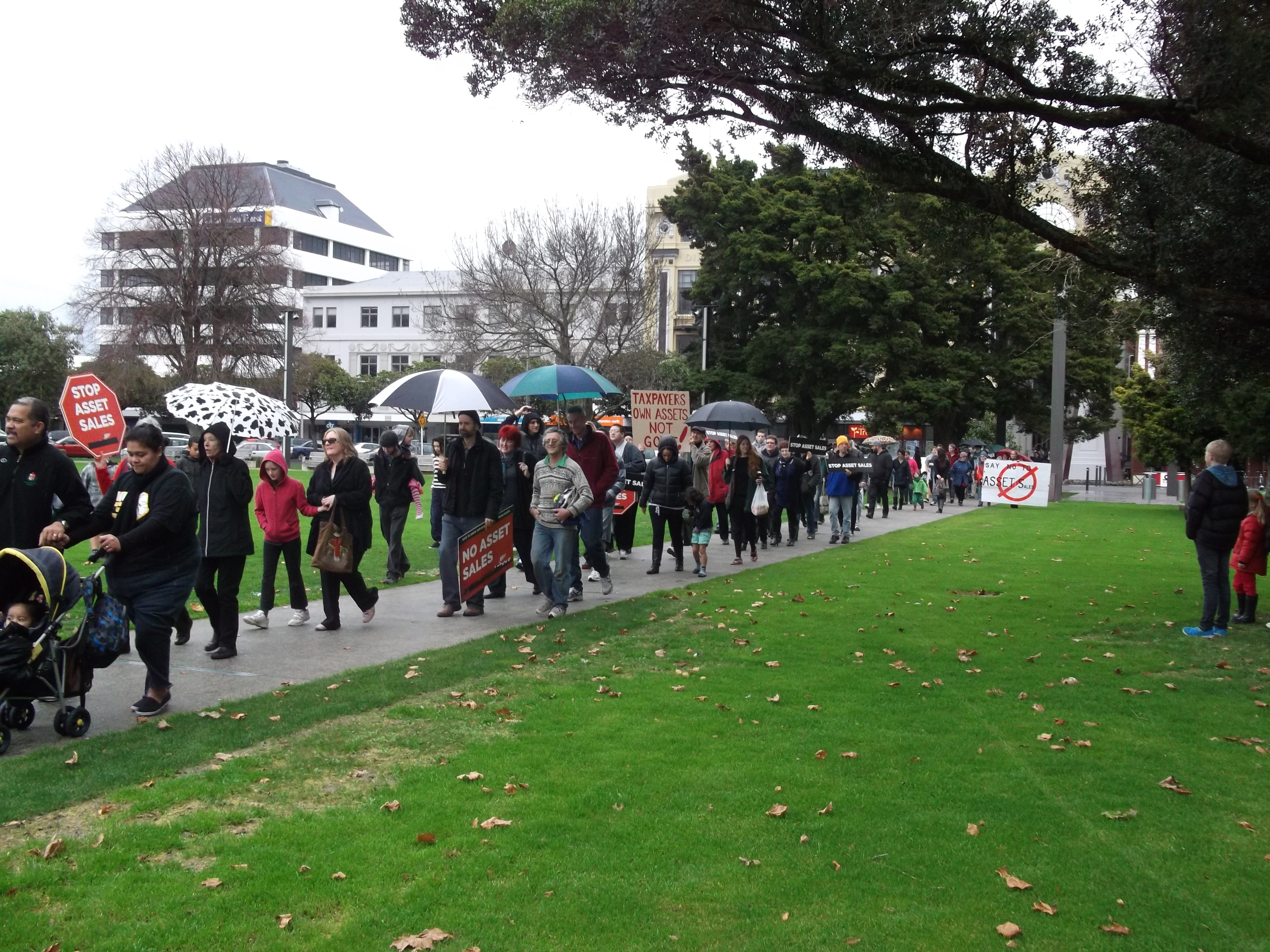 Protest March in Palmerston