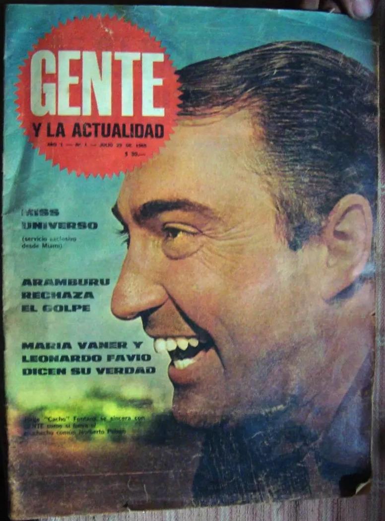 Gente revista wikipedia la enciclopedia libre for Revistas argentinas de farandula