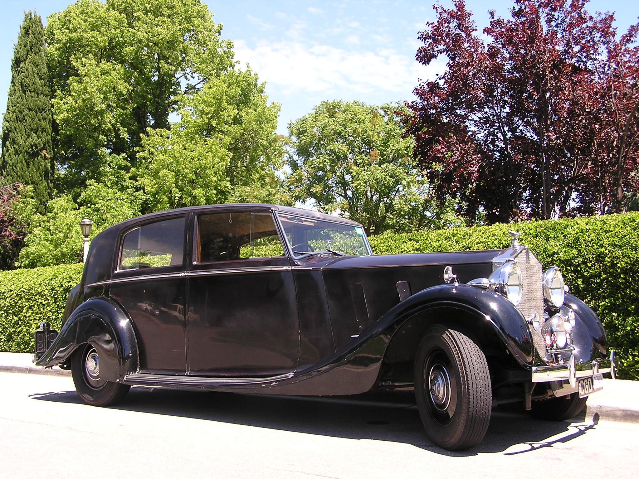 Automóvel Rolls Royce Phantom Circa 1936