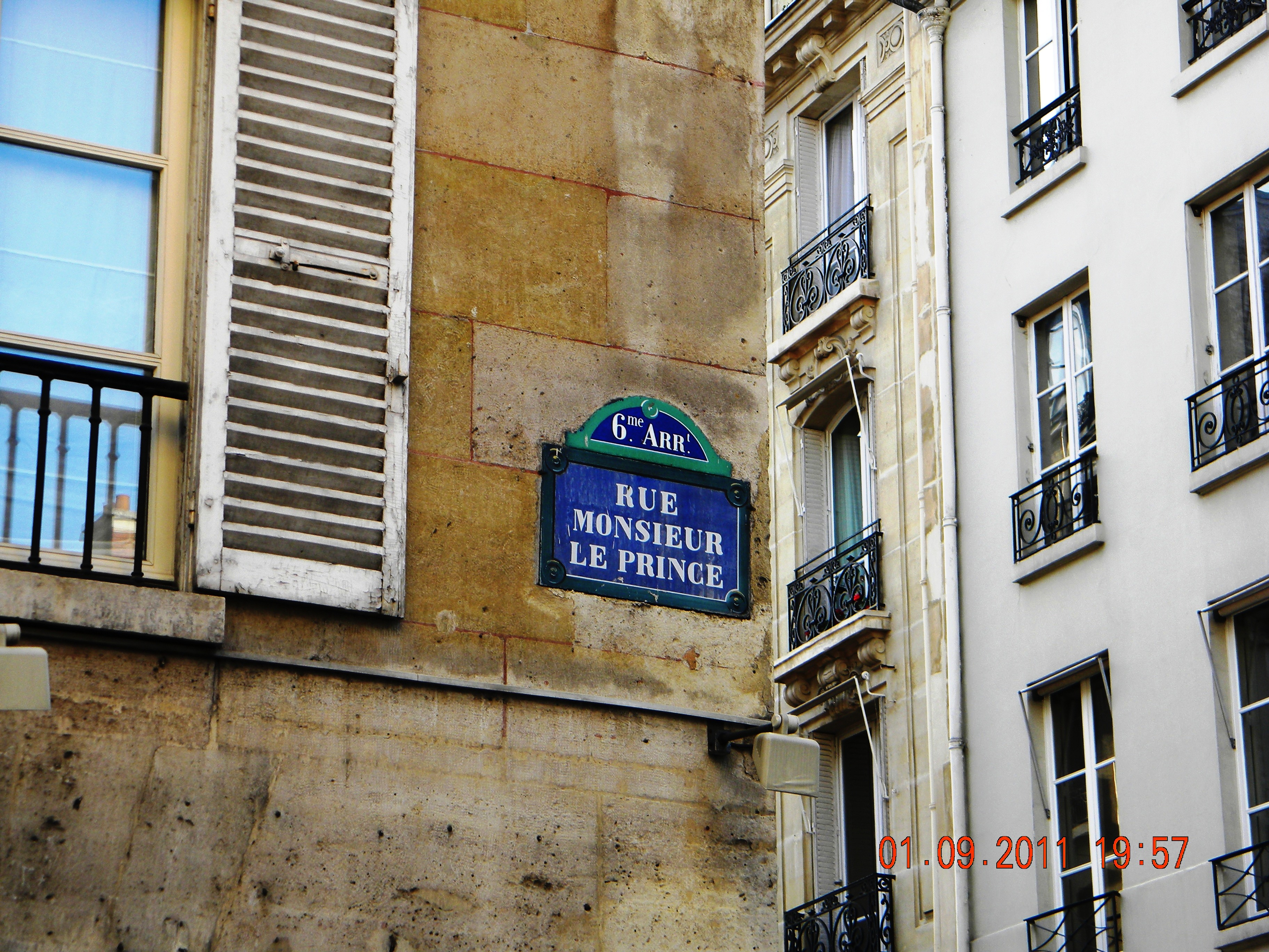 rue monsieur le prince paris map. Black Bedroom Furniture Sets. Home Design Ideas
