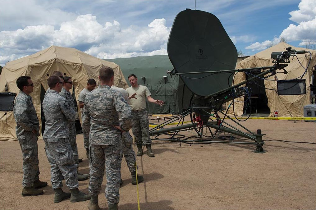 reacher satellite ground terminal