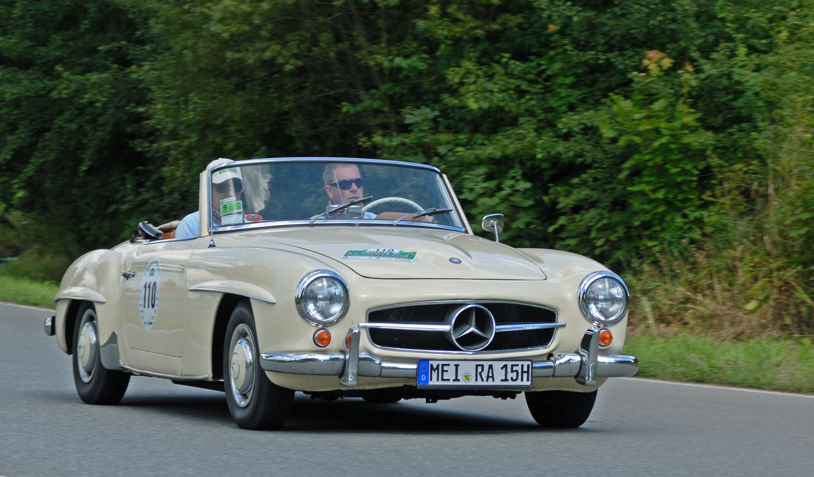 File saxony classic rallye 2010 mercedes benz 190 sl for Rally mercedes benz