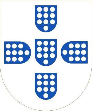 File:Shield of the Kingdom of Portugal (1139-1247).png