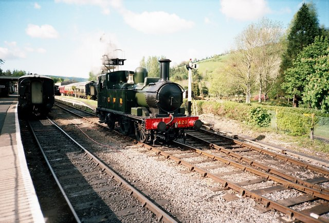 South Devon Railway, Buckfastleigh - geograph.org.uk - 364682