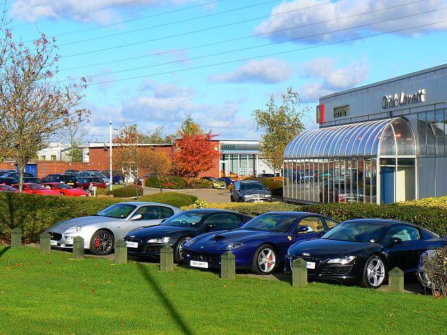 File Sports Car Dealership West Swindon Geograph Org Uk