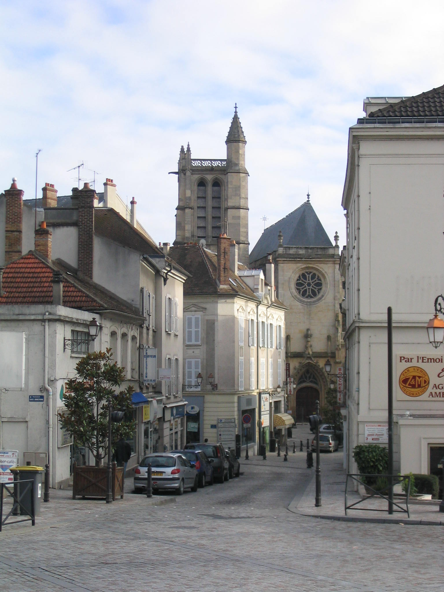 Depiction of Melun