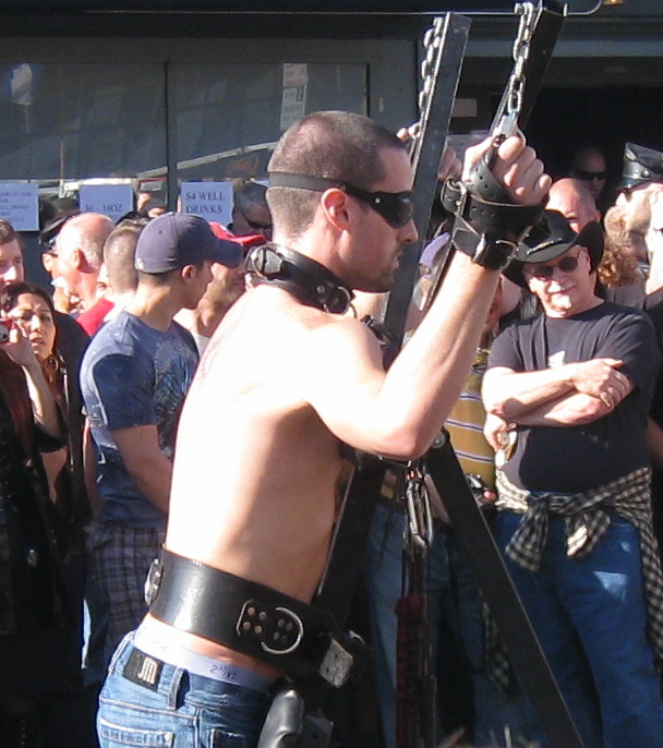 Strapped_to_St_Andrews_Cross_in_Public.p