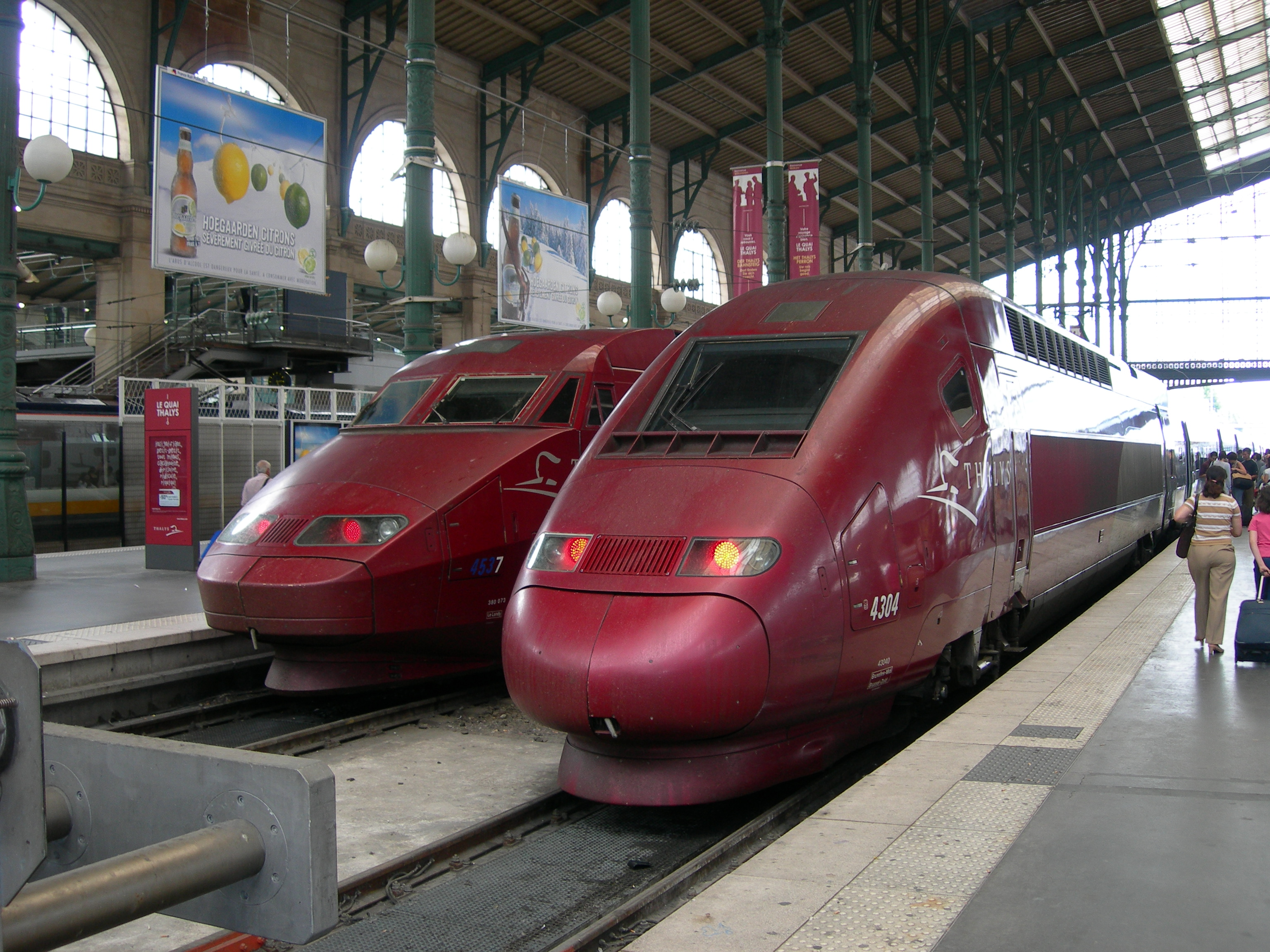 file tgv thalys paris gare du nord july wikimedia commons. Black Bedroom Furniture Sets. Home Design Ideas