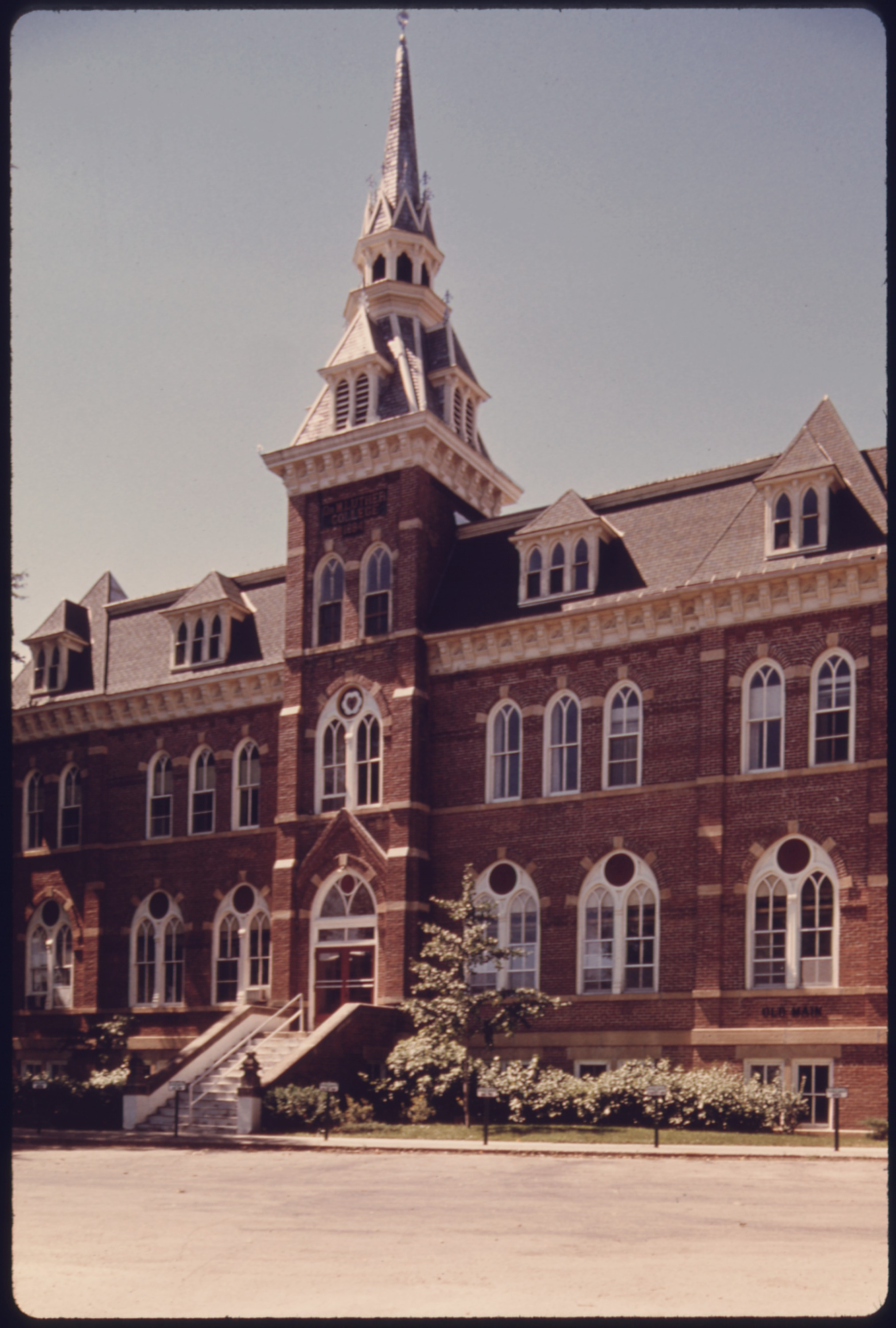 The Original Rider Waite Deck By Arthur Edward Waite: File:THE ORIGINAL BUILDING OF DR. MARTIN LUTHER COLLEGE