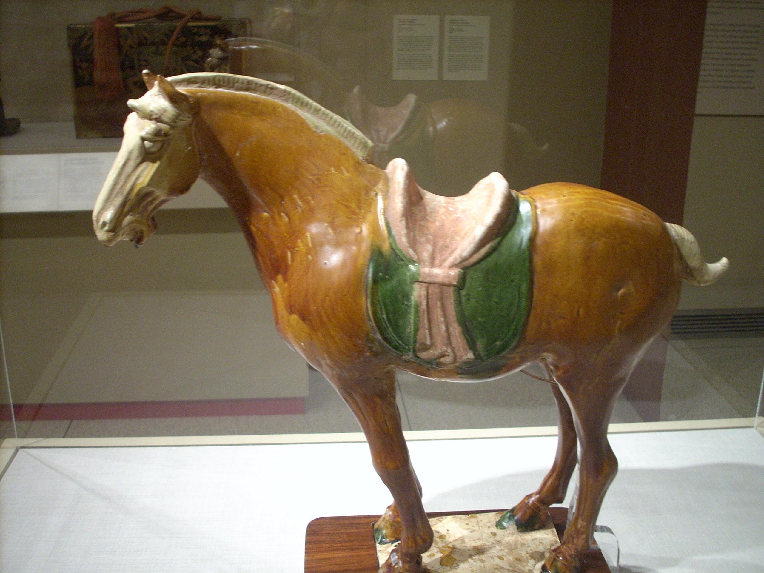 File Tang Dynasty Horse No Rider Jpg