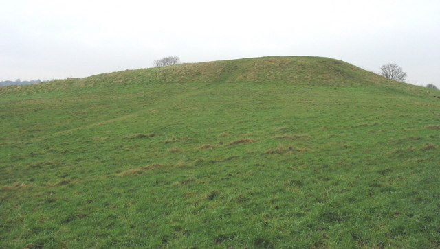 The 12th century earthworks of the Roman Camp - geograph.org.uk - 657757