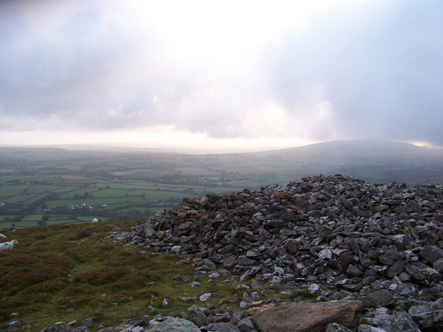 The ancient hill fort of Foeldrygarn, Preseli Mountains - geograph.org.uk - 260111