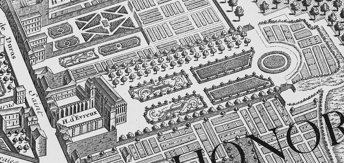 Hôtel d'Évreux 1737