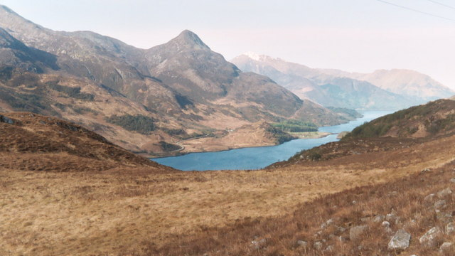 Towards the Pap of Glencoe over Loch Leven from West Highland Way - geograph.org.uk - 389224