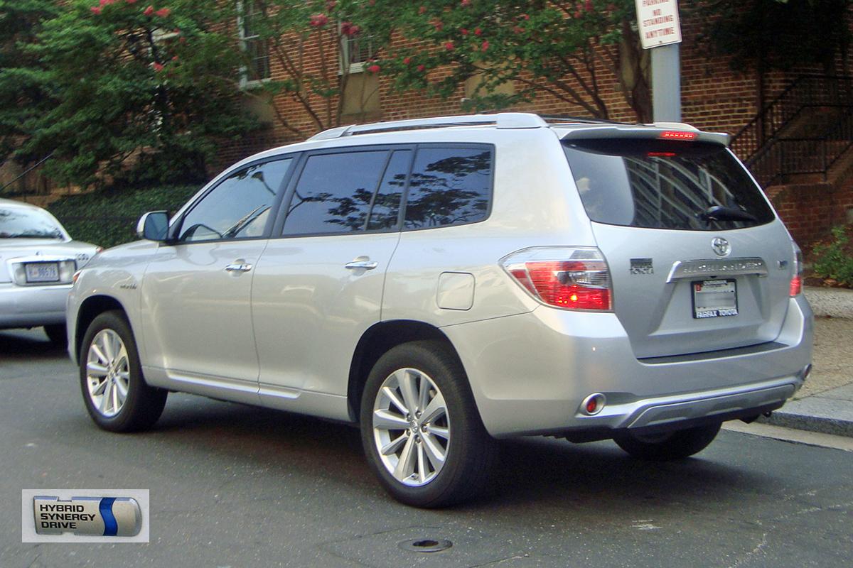 High Quality File:Toyota Highlander Hybrid DCA 08 2009 7004