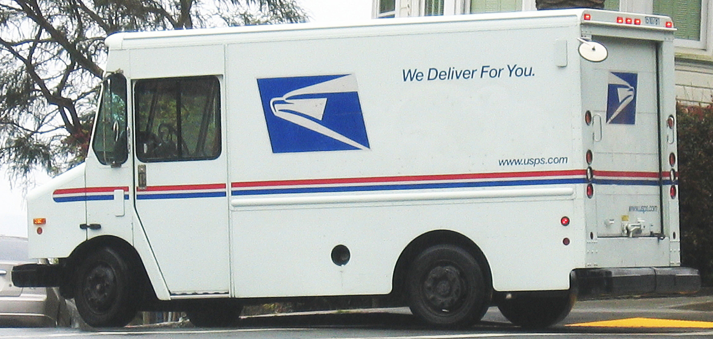 File United States Postal Service Truck Jpg