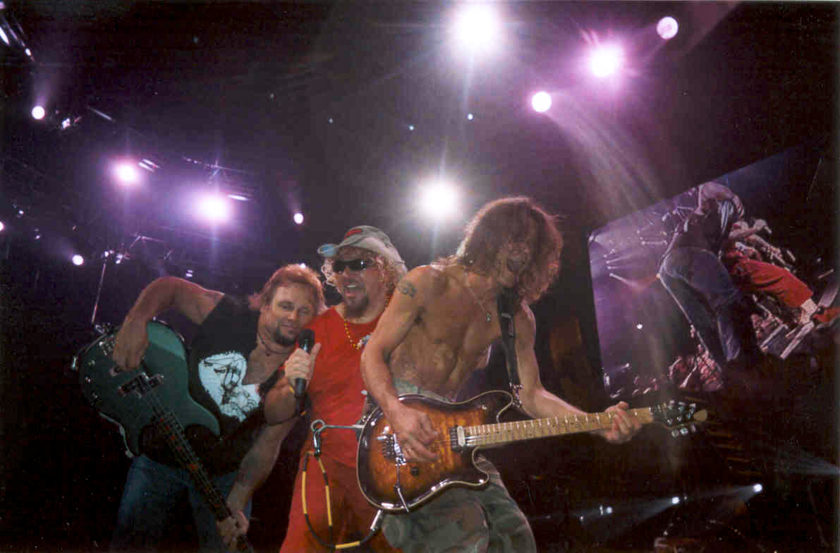 Van Halen Tour Dates