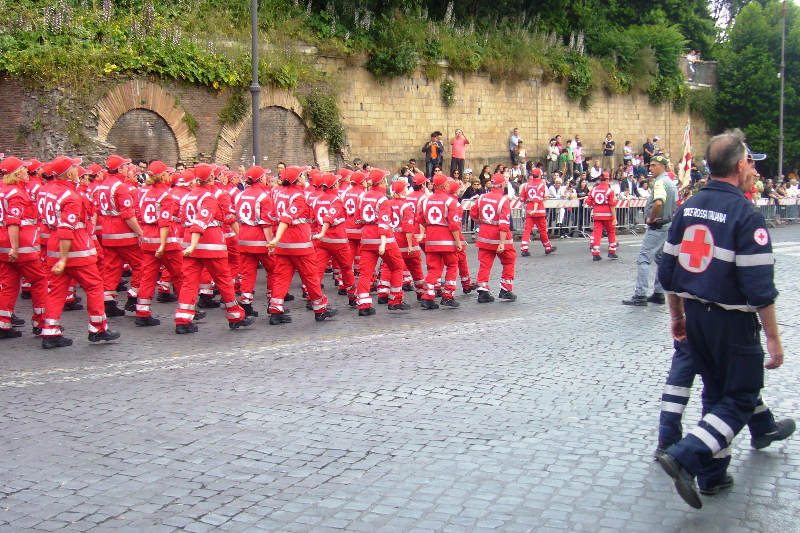 Divisa Croce Rossa Italiana Volontari Del Soccorso — 62a0dac667e3