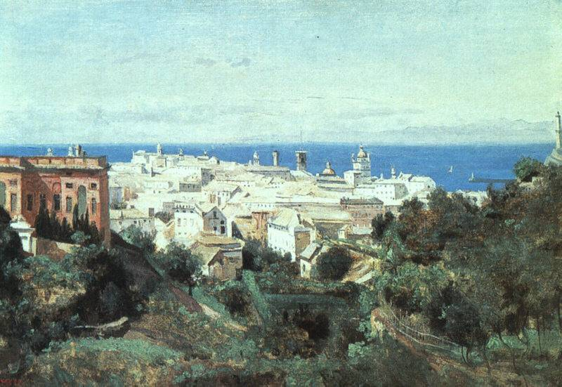 File:View of Genoa (Camille Corot).jpg - Wikimedia Commons