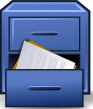 Vista-file-manager (blue)