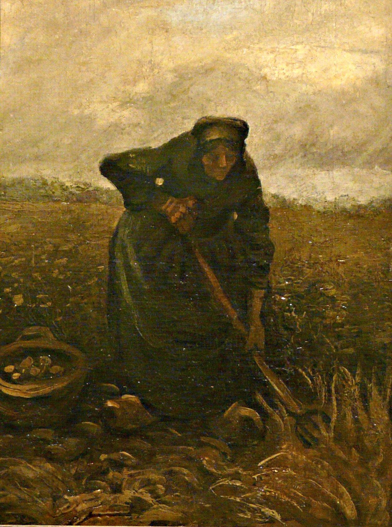 File:WLANL - jankie - Aardappelrooister, Vincent van Gogh (1885).jpg