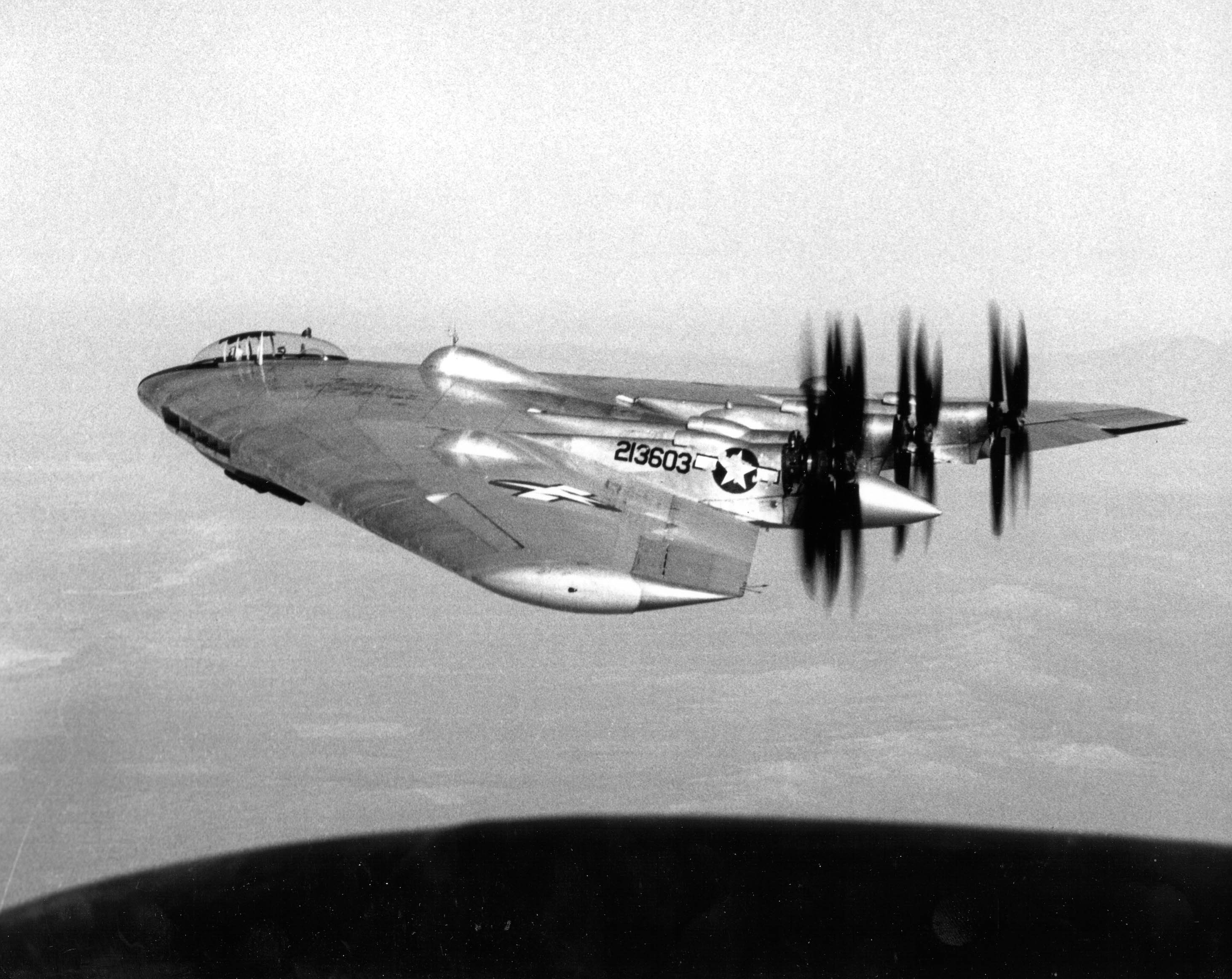 Northrop YB-35 Experimental Flying Wing Bomber ...