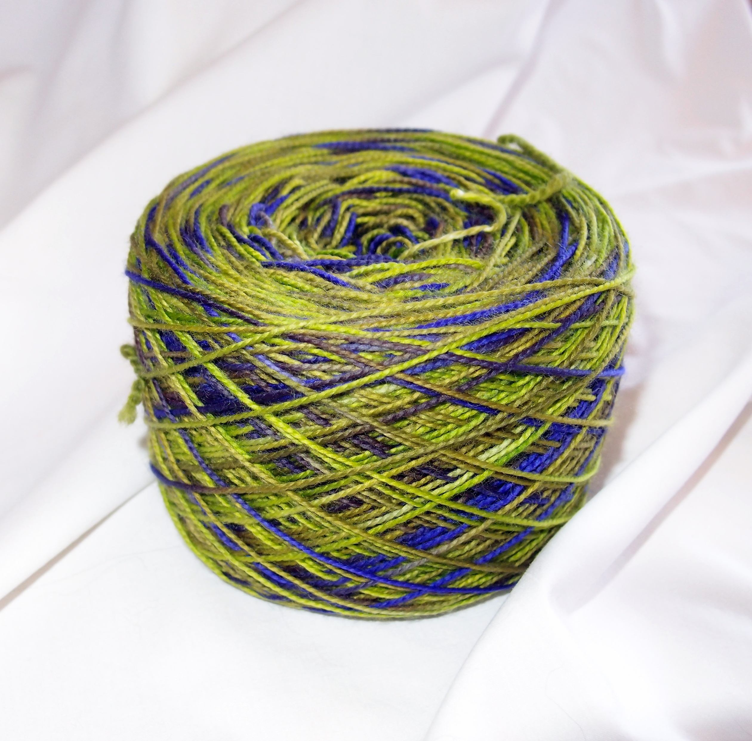 How To Wind A Yarn Cake By Hand