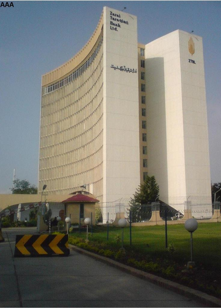 Zarai taraqiati bank limited wikipedia - National bank of pakistan head office ...