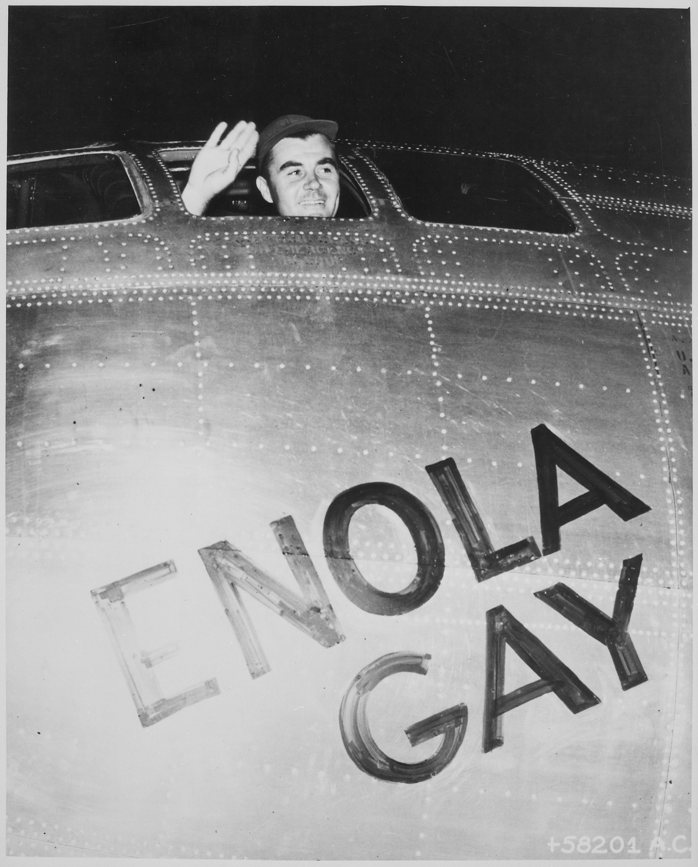 Signed Paul Tibbets Talks About How He Got Involved With the Hiroshima Bombing