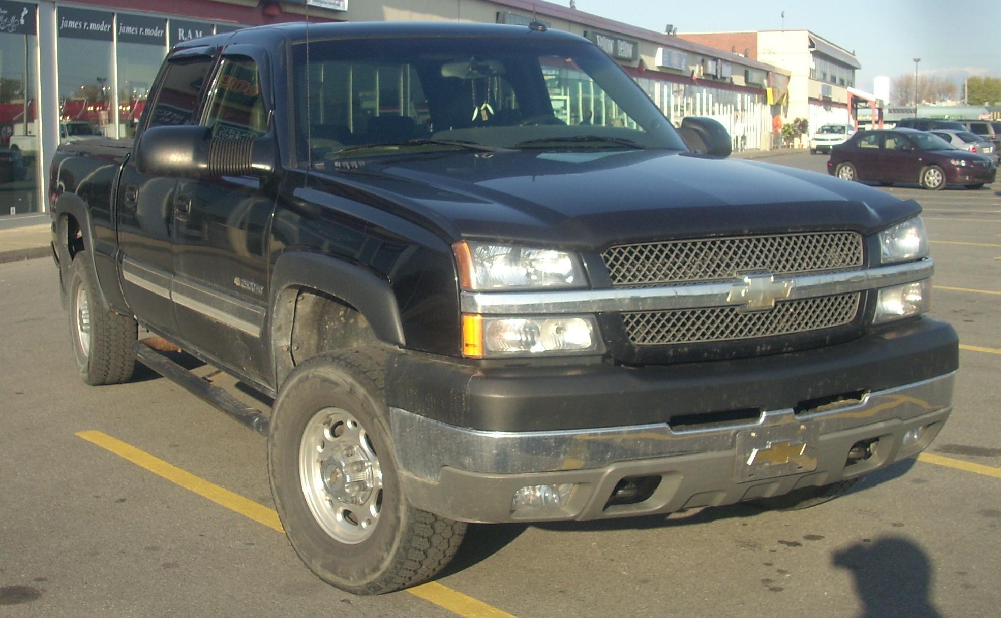 File03 05 Chevrolet Silverado 2500hd Crew Cabjpg Wikimedia Commons