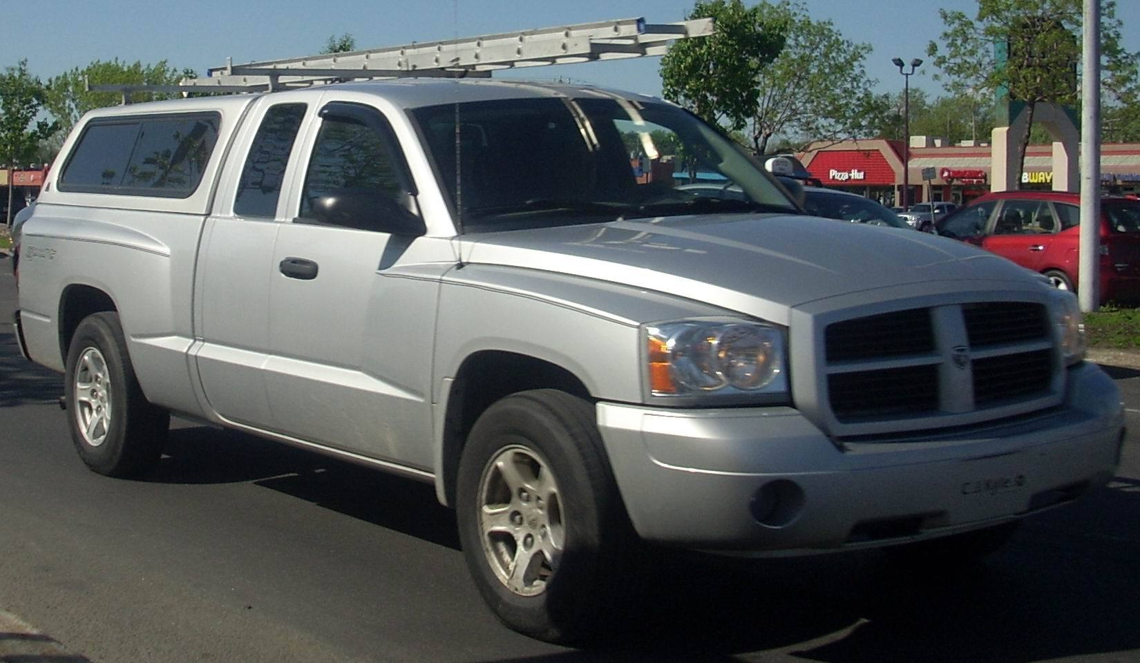 Dodge Dakota Extended Cab Bed Size