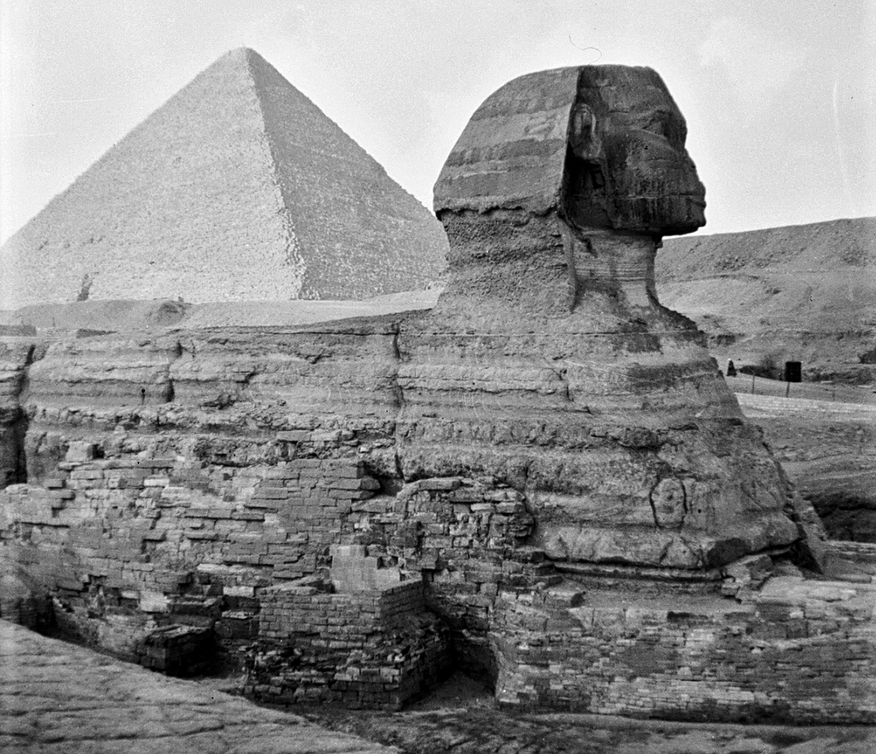 an analysis of the great pyramid of egypt How the pyramids at giza were built is one of egypt's biggest mysteries.