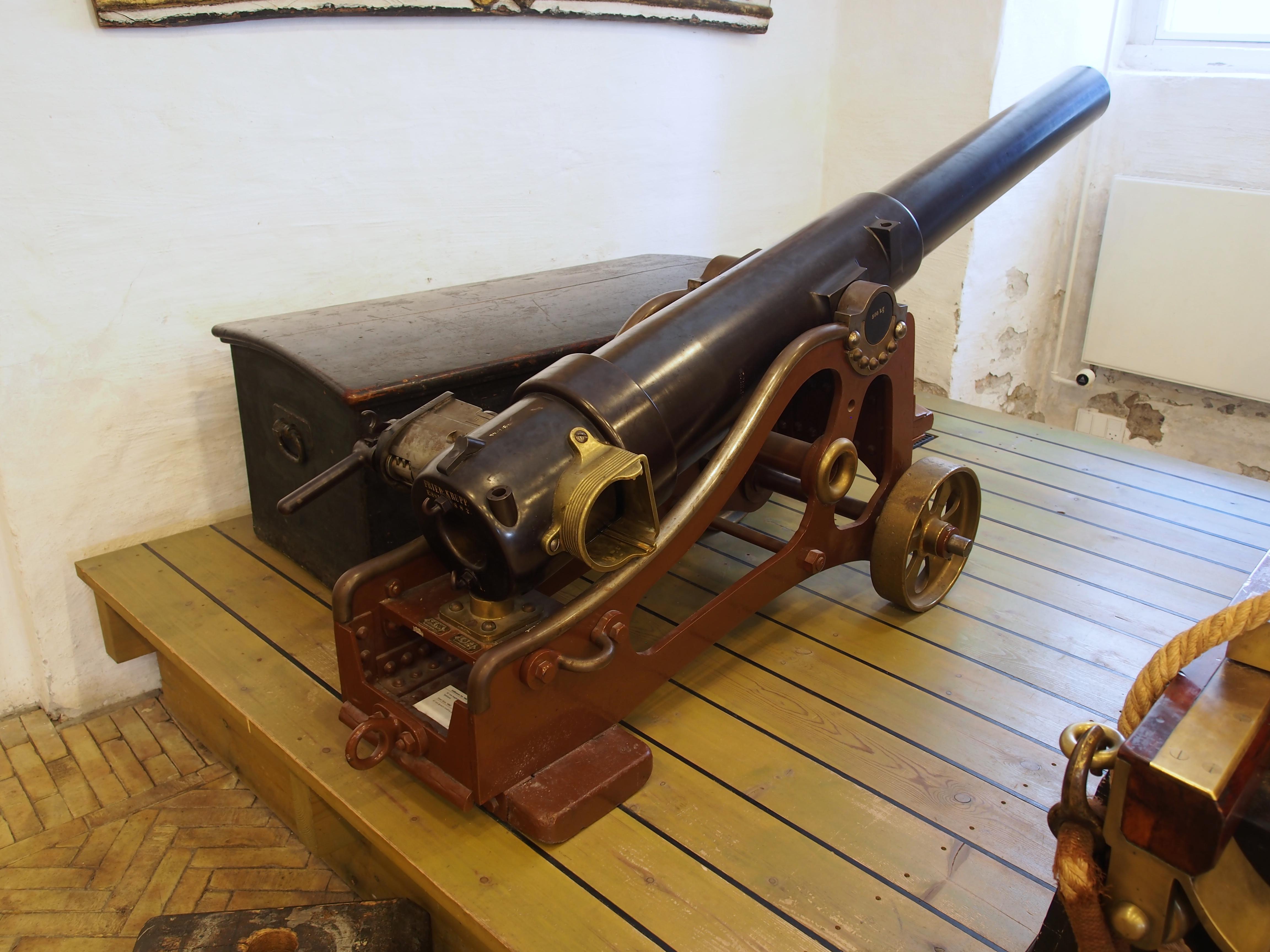 File 1882 87 Mm Breech Loading Gun From Krupp Pic2 Jpg