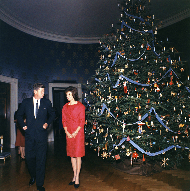 White House Christmas Decorations From The Kennedys To The